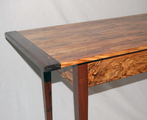 Mapletable on Spalted Oak
